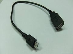 Micro USB 手機平板OTG數據線