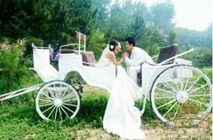英皇欧式婚庆马车