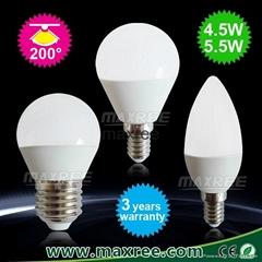 led candle bulbs,led candle lights,e14 bulb,c37 3W led candle bulb,led e14 bulb