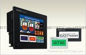 三菱触摸屏GT1055-QSBD三菱人机界面GOT1000 3