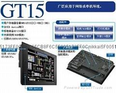 三菱觸摸屏GT1595-XTBA三菱人機界面GOT1000