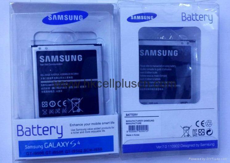 Original Samsung S4 i9500 brand new battery 2600MAH 5