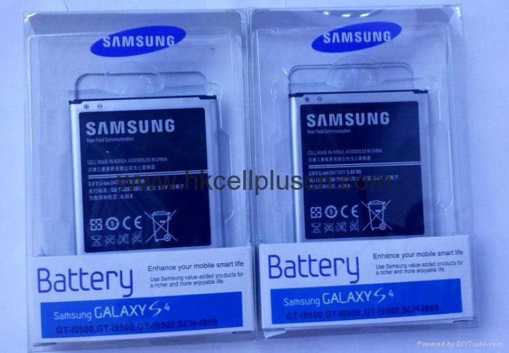 Original Samsung S4 i9500 brand new battery 2600MAH 6