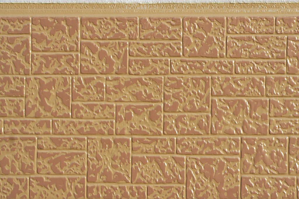 石头纹金属雕花板 2