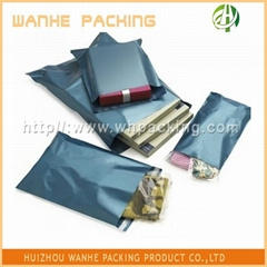 self sealing adhesive messenger mail bag with adhesive tape
