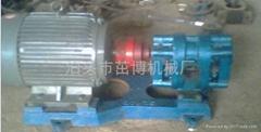 外潤滑渣油泵