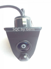 Frontview and rearview car camera