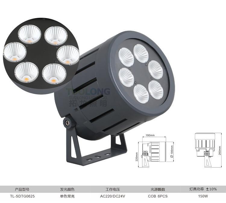 拓龍照明新款結構防水投光燈 4
