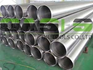 All-welded continuous slot Johnson type well screens 1