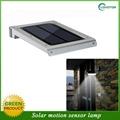 2015 new waterproof led solar motion sensor light 4