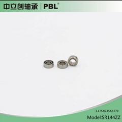 牙钻手机轴承SR144 3.175x6.35x2.38牙科打磨机轴承