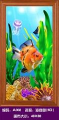 5D钻石画 海底鱼