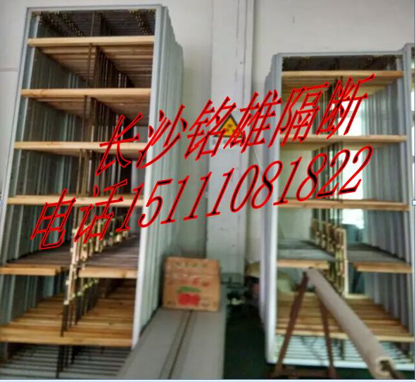 長沙酒店吊挂折疊移動隔斷屏風,岳陽活動隔斷屏風廠家 2
