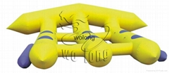 Fly Fish inflatable boat for water games on sale !!!