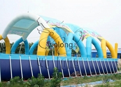 metal frame inflatable s