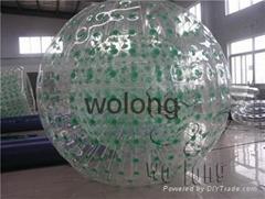 TPU water zorb ball/water polo ball