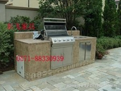 Stainless steel barbecue pits
