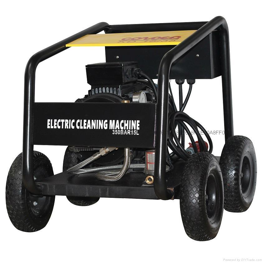 KD15/35工業級冷水電動高壓清洗機,樓宇牆體、混泥土翻新機 1