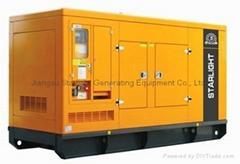 静音型发电机组 200~600kw