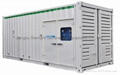 静音型集装箱型发电机组 ≥600kw