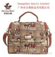2018 Fashion Henney Bear Ladies Tote Handbag