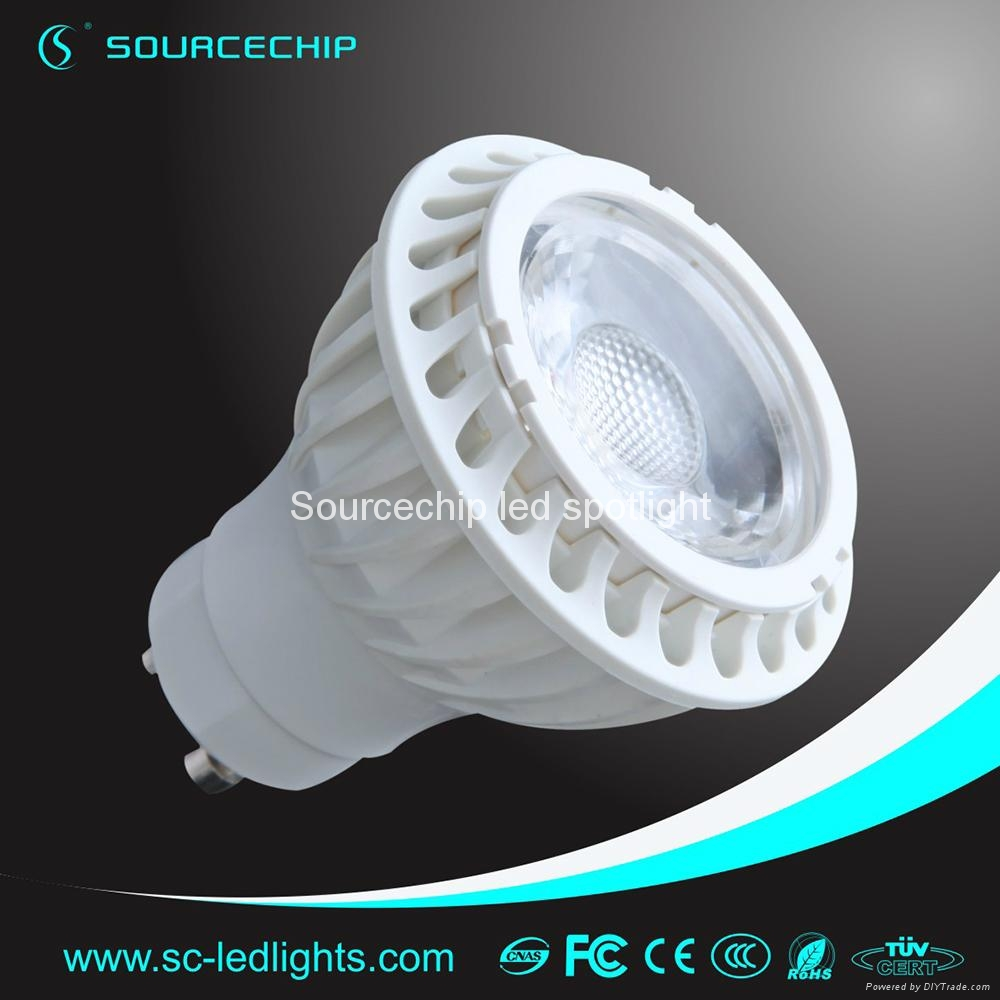 gu10 dimmable cob led spotlight 4