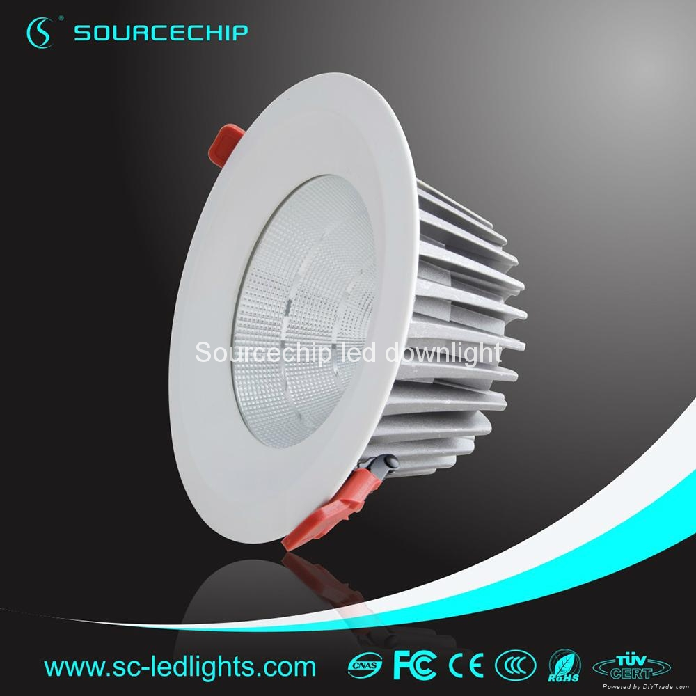 EXW price cob 30w dimmable led downlights 2