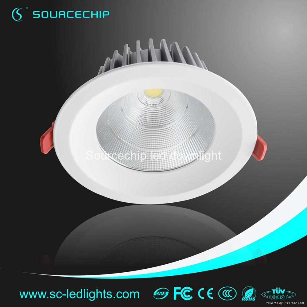 EXW price cob 30w dimmable led downlights 3