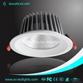 EXW price cob 30w dimmable led downlights 5