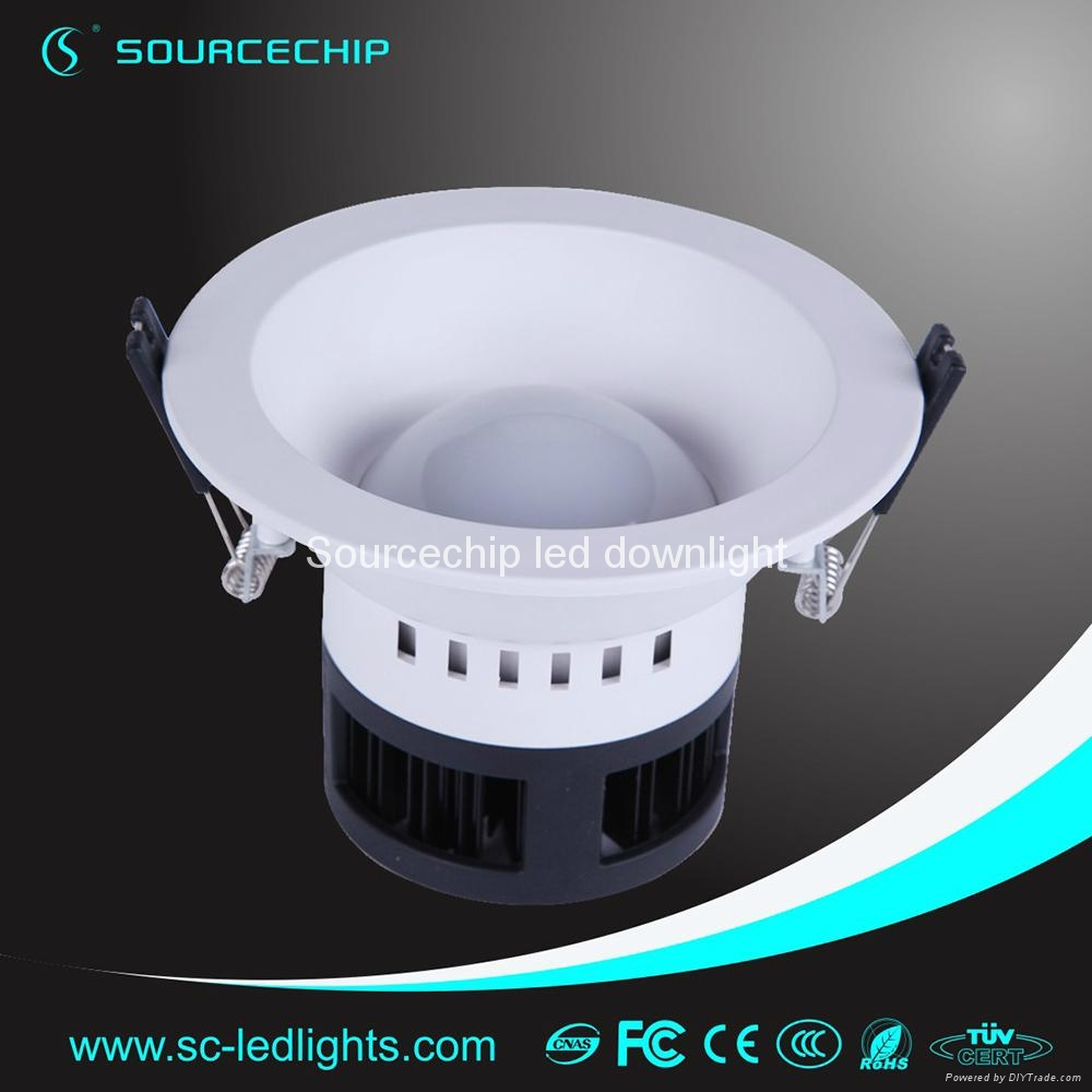 china wholesale 3inch AC220V dimmable 4w smd2835 led downlight 2