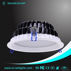 Round 12w smd5630 led downlight