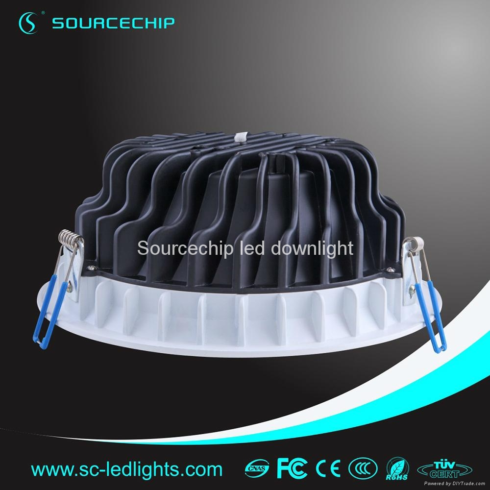 Round 12w smd5630 led downlight 4
