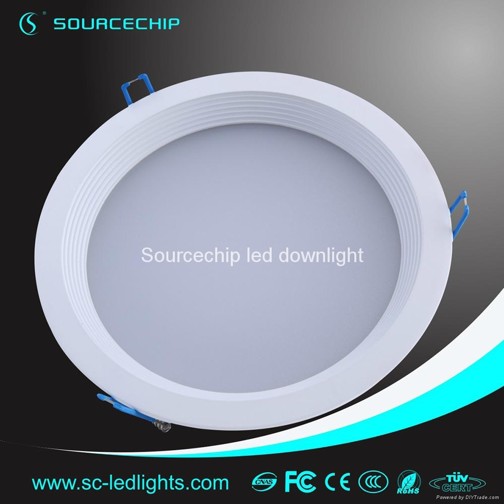 Round 12w smd5630 led downlight 3