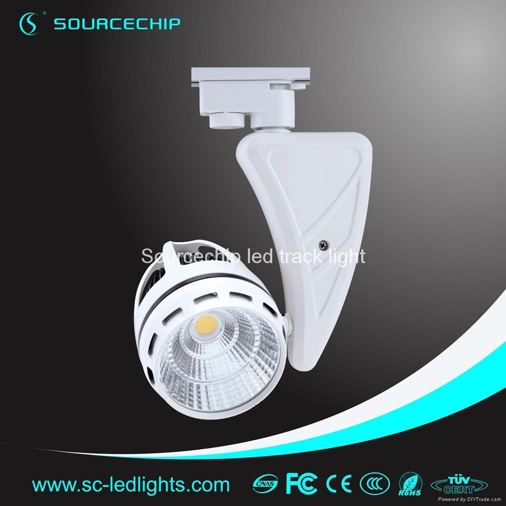 commercial 45w cob led track light 2