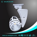 commercial 45w cob led track light