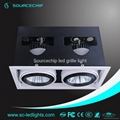 2*30W adjustable cob grille light  2