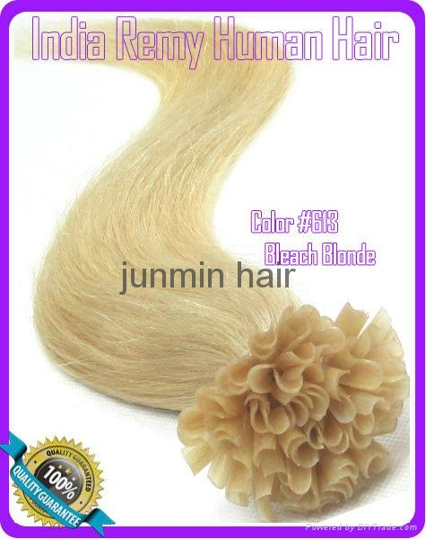 5A Grade 100% remy hair clip on human hair extension 1