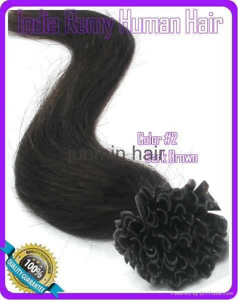 5A Grade 100% remy hair clip on human hair extension 3
