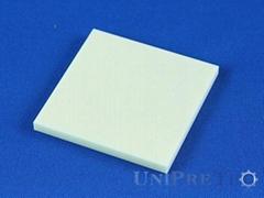 High Precision Alumina Al2O3 Ceramic Substrates Plates