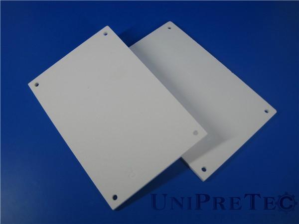 High Precision Alumina Al2O3 Ceramic Substrates Plates 5