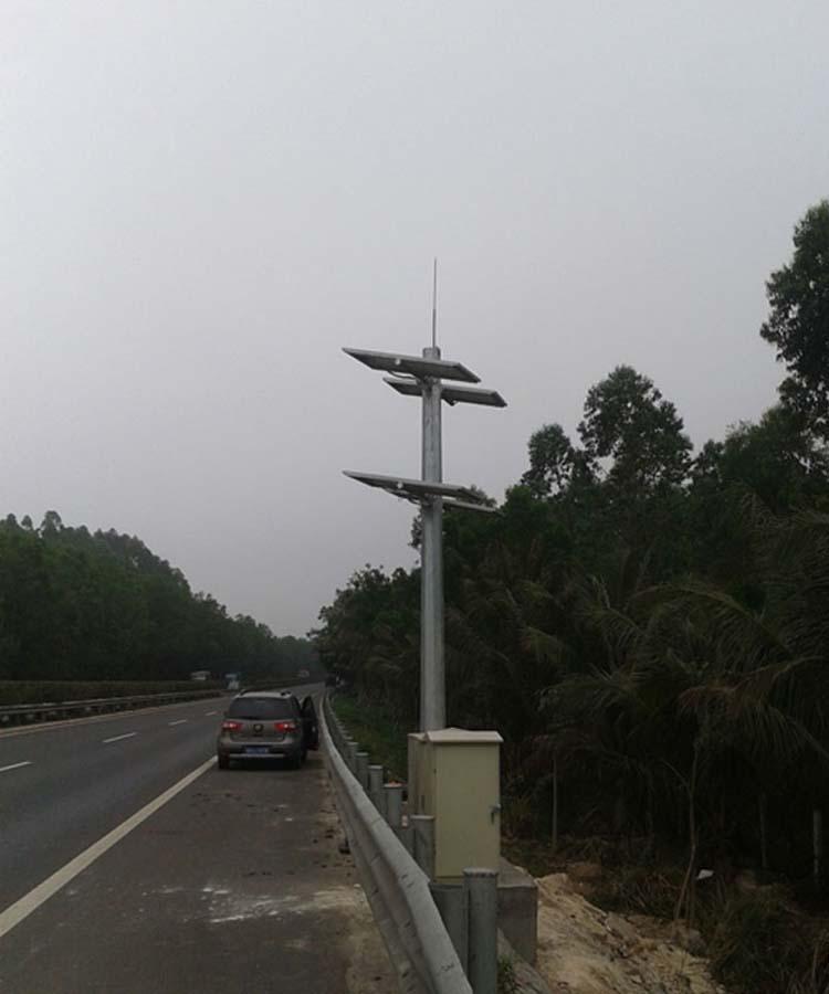 太阳能监控道路视频球机供电系统 1