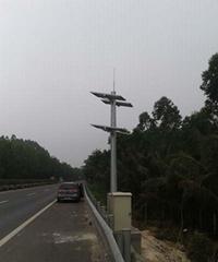 太阳能监控道路视频球机供电系统