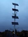 太阳能监控河道水域安防供电系统