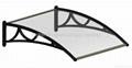 PC Door Canopy DIY Awning Durable Door Canopy Shade Shelter China