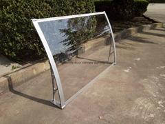 Aluminum Door Canopy DIY