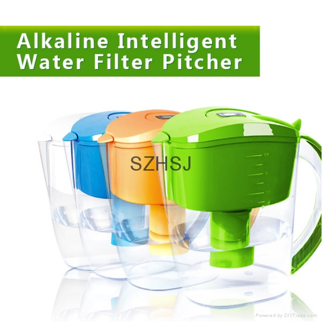 Alkaline Mineral Water Ionizer Pitcher 3.5L Pure Healthy Water in Minutes 4