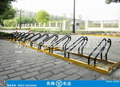 校園自行車停車架
