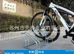 大學校園專用自行車停車架