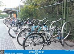 螺旋式自行车停车架