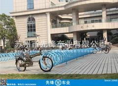 上海螺旋形户外停车架